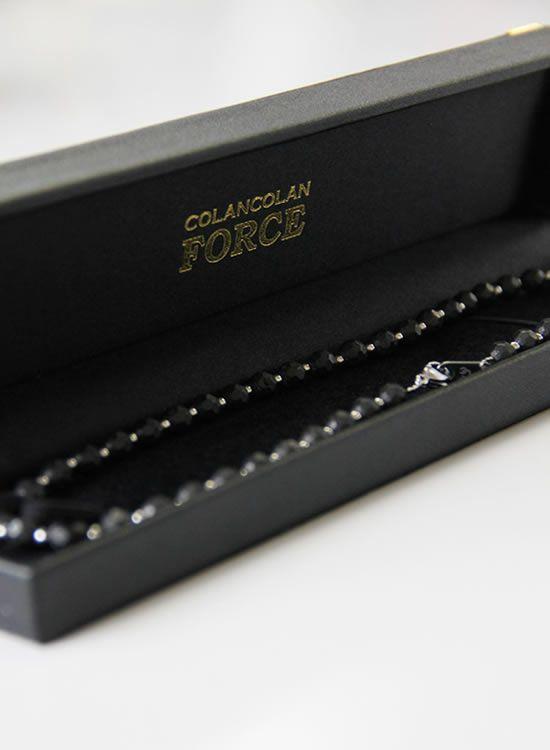 コランコランFORCE2(フォースツー)ネックレス 箱入りブラック