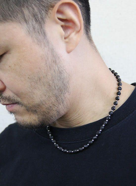 コランコランFORCE2(フォースツー)ネックレス 着用イメージ ブラック